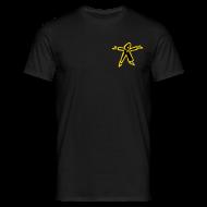 T-Shirts ~ Männer T-Shirt ~ Klassiker Schwarz