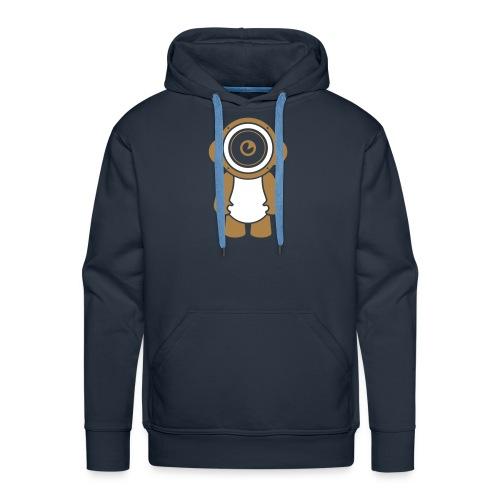 Petit bonhomme musical - Sweat-shirt à capuche Premium pour hommes