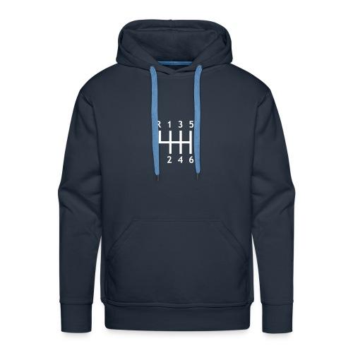 boite de vitesse - Sweat-shirt à capuche Premium pour hommes