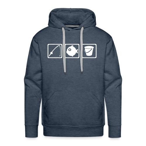 panoplie du pêcheur - Sweat-shirt à capuche Premium pour hommes