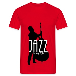 T shirt homme jazz is my life - T-shirt Homme