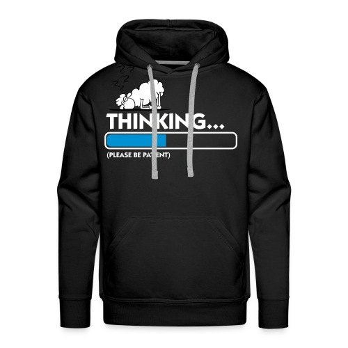 Thinking... - Men's Premium Hoodie