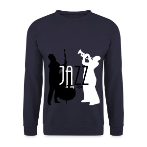 Sweat-shirt homme jazz is my life - Sweat-shirt Homme