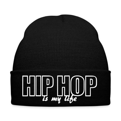 Bonnet hip hop is my life - Bonnet d'hiver