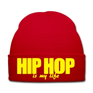 Bonnet hip hop is my life - Bonnet d'hiver