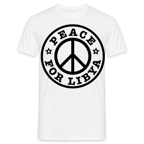 I LOVE MY LIBYA - Männer T-Shirt