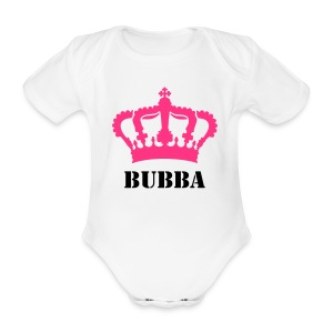 Baby Girls 'Bubba' One Piece - Organic Short-sleeved Baby Bodysuit