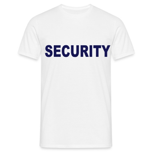 Security - Männer - Männer T-Shirt