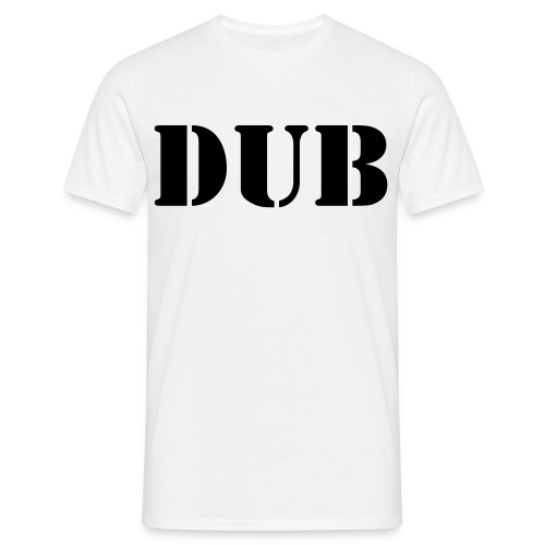 Dub step double sided - Men's T-Shirt