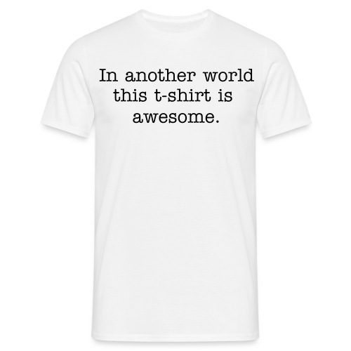 awesome top - Men's T-Shirt