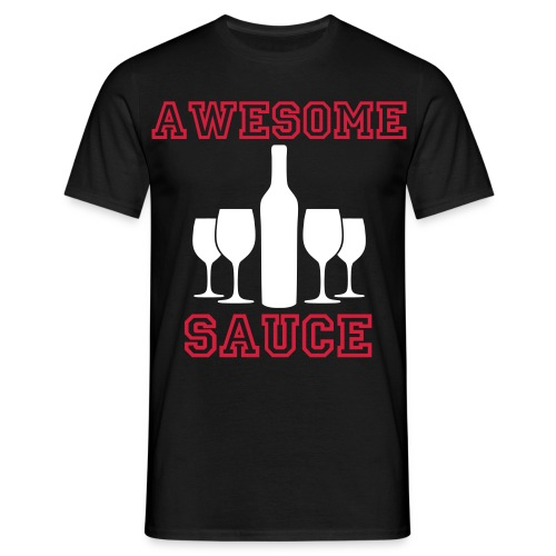 awesome sauce - Men's T-Shirt