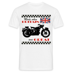 Made when Britain was Great - Sunbeam S8 - Men's T-Shirt