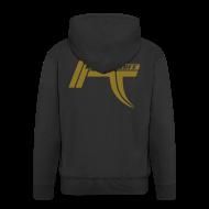 Hoodies & Sweatshirts ~ Men's Premium Hooded Jacket ~ Ruff E Nuff - 5 Star - Jacket back