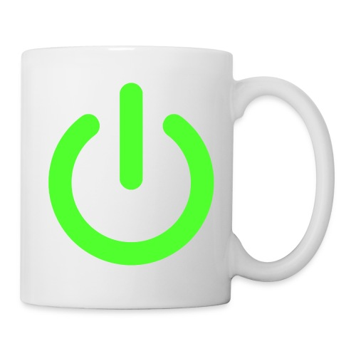 TASSE POWER - Mug blanc
