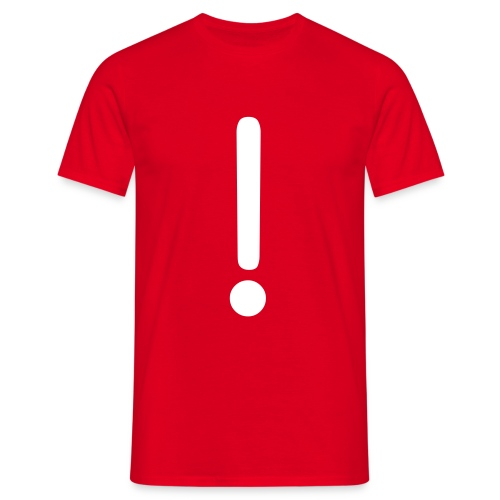 exclamation - Men's T-Shirt
