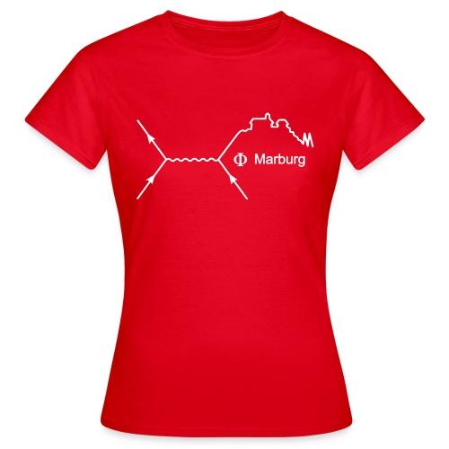 Frauen T-Shirt klassisch (Aufdruck weiß) - Frauen T-Shirt