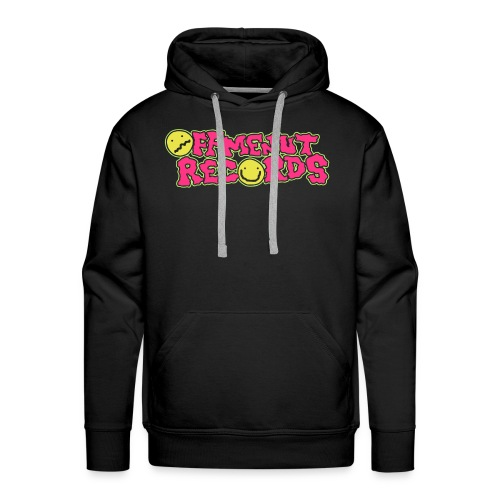 ORIGINAL LOGO HOODIE !! (works best with dark coloured hoodies!!) - Men's Premium Hoodie