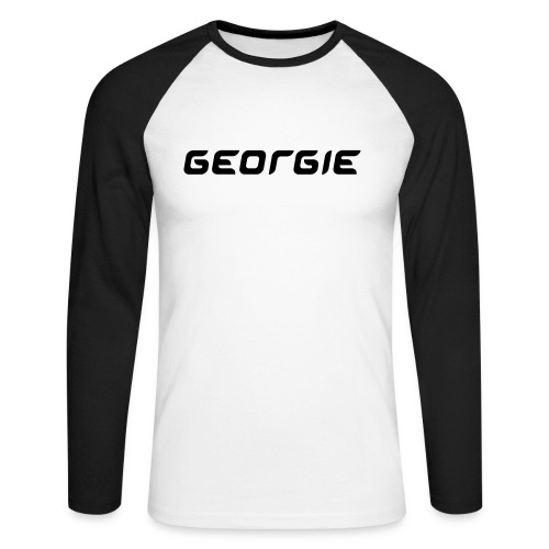 Newcaslte - Men's Long Sleeve Baseball T-Shirt