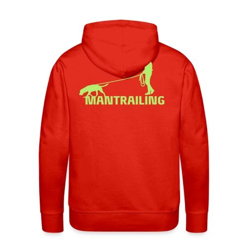 Mantrailling - Männer Premium Hoodie