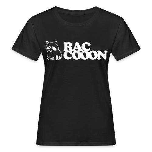 Raccooon Logo - Frauen Bio-T-Shirt