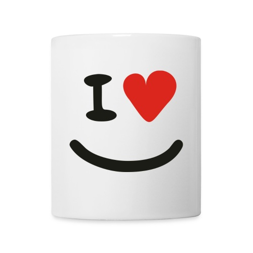 I Love Smiley Tasse - Tasse