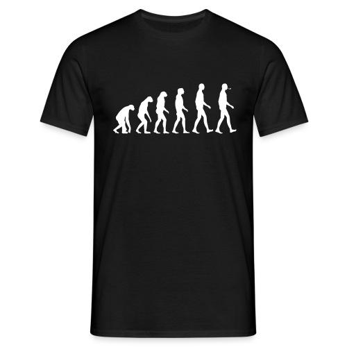 The Evolution of (pipe) Man - Men's T-Shirt