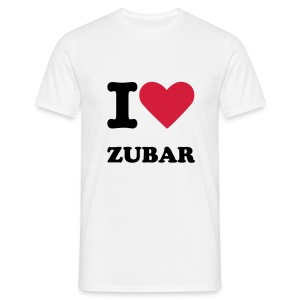 I Love Zubar - Men's T-Shirt