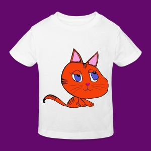 CHAT NATHAN 2 - T-shirt Bio Enfant