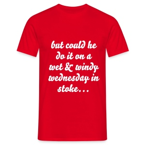 Messi in the Potteries - Men's T-Shirt
