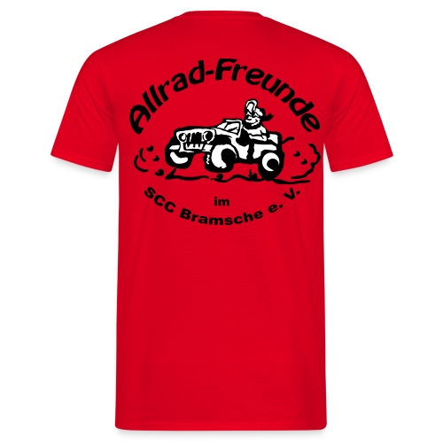 Classic-T ROT -A- - Männer T-Shirt