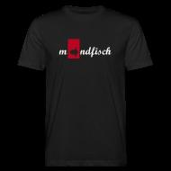 T-Shirts ~ Men's Organic T-shirt ~ mondfisch black gent