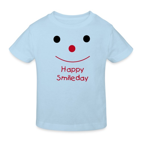 Happy Smileday - Kids' Organic T-Shirt