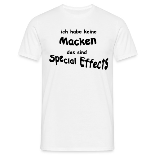 Macken for Men - Männer T-Shirt