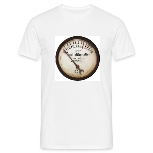 Hauptluftbehälter (Vorne) - Männer T-Shirt
