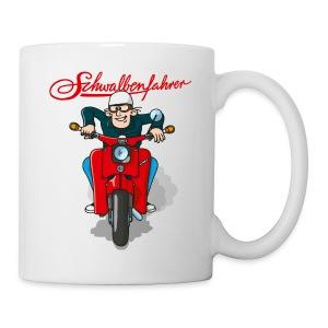 Schwalbenfahrer Tasse - Tasse