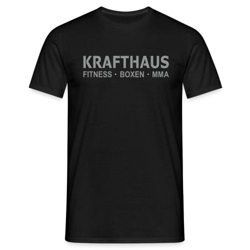 Krafthaus - Shirt /Black - Männer T-Shirt
