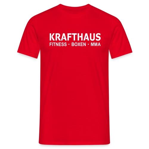 Krafthaus - Shirt /Red - Männer T-Shirt