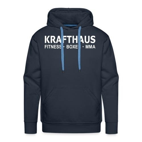 Krafthaus - Hoody /Blue,White - Männer Premium Hoodie