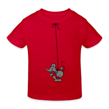 The Mouse hangs around Kids' Shirts