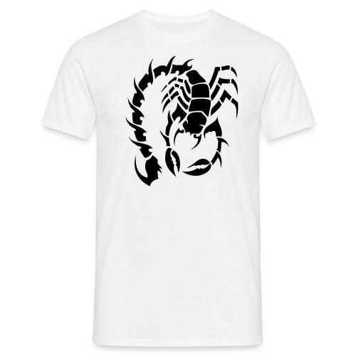 Maglietta Uomo Tribal Scorpion - Maglietta da uomo
