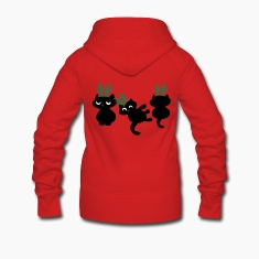 Christmas Reindeer kittens patjila arts Coats & Jackets