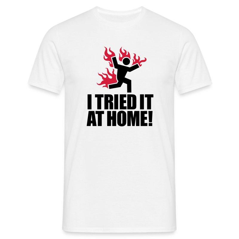 Humor Me T-Shirts (At Home) - Men's T-Shirt