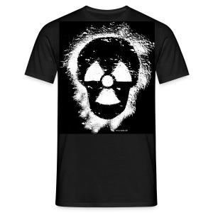 Anti-Atomkraft Graffiti - Männer T-Shirt