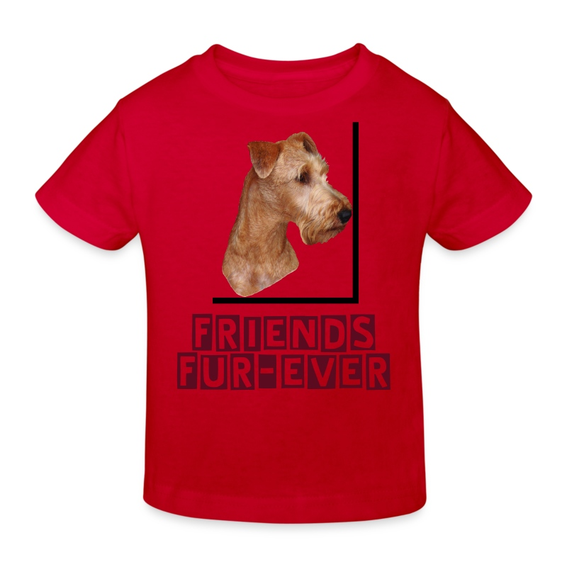 Shirt Irish Terrier - Kinder Bio-T-Shirt