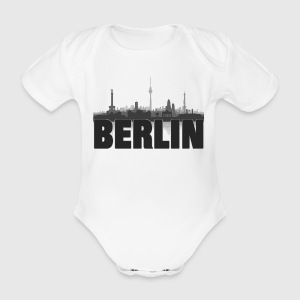 Berlin Skyline - Baby Bio-Kurzarm-Body