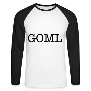 GOML Men's Raglan Long Sleeve - Men's Long Sleeve Baseball T-Shirt