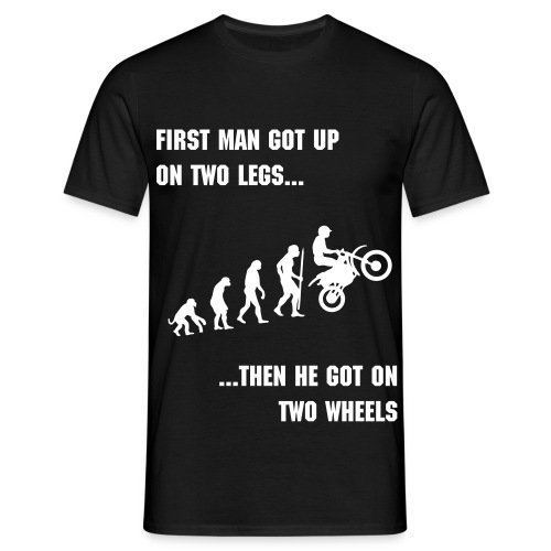 The evolution of man tee - Men's T-Shirt