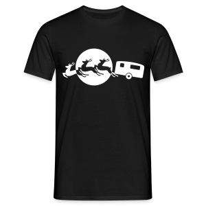 Santa's Xmas Break - Men's T-Shirt