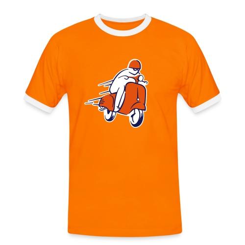 SCOOTER RACER - T-shirt contrasté Homme