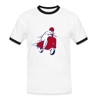 Tee shirts ~ Tee shirt contraste Homme ~ SCOOTER RACER